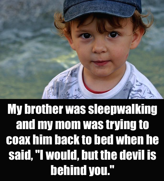 Parents of the internet were asked about the creepiest things their kids have ever said. Here are their hilarious responses...