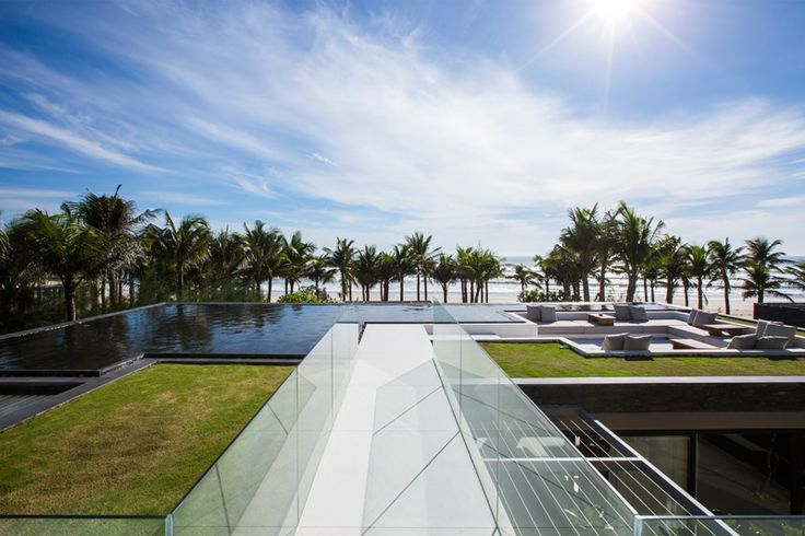 The Party Is On The Roof At This Tropical Beachfront Villa