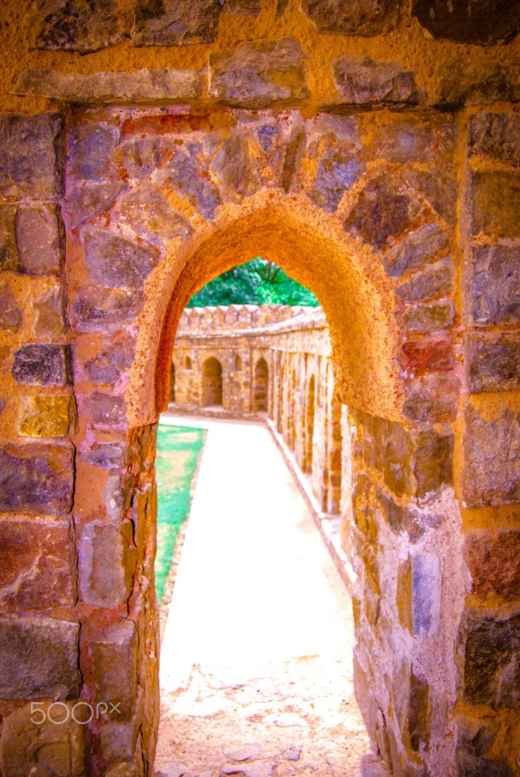 Beyond - Delhi Monuments, India.