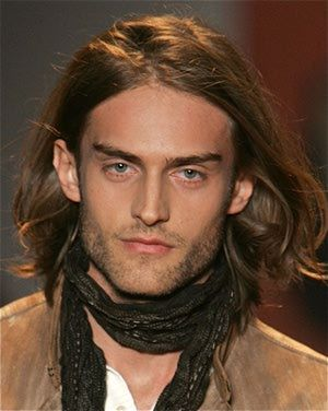 Men's Hairstyles - Long Hairstyles for Men - Men With Long Hair - Men's Long Hairstyles.  Long hair on men has become a mainstay in men's style and not just reserved for rock 'n roll types. It can be appropriate for an office setting, it can be edgy, it can fashion forward and more. One thing is for sure though, long hair on men is a defining feature.: Long Hairstyle #12