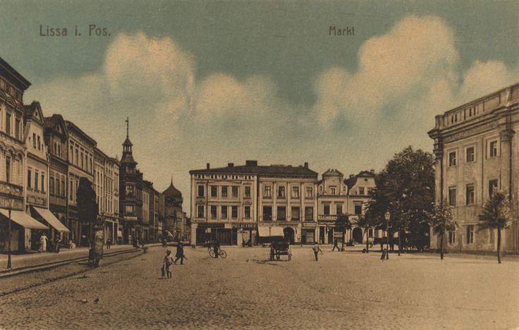 Lissa, Posen: Marktplatz