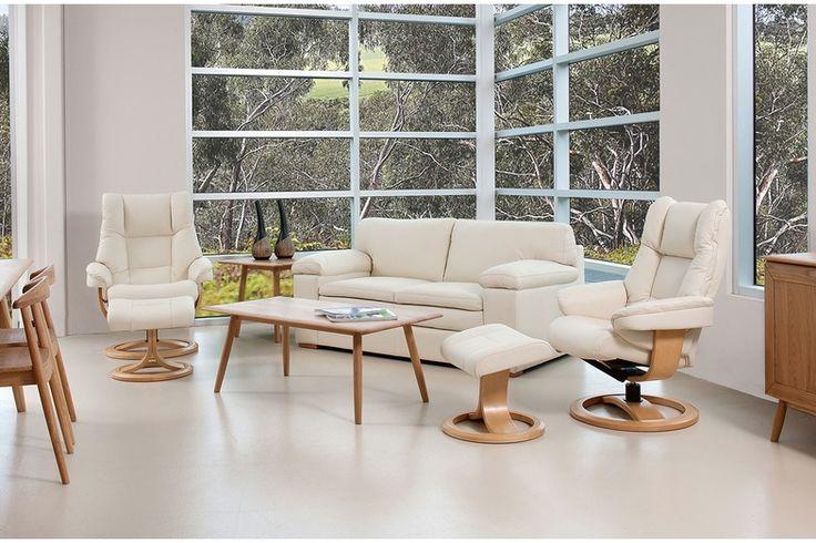 Portsea/ Freya Leather Lounge Suite Package - IMG