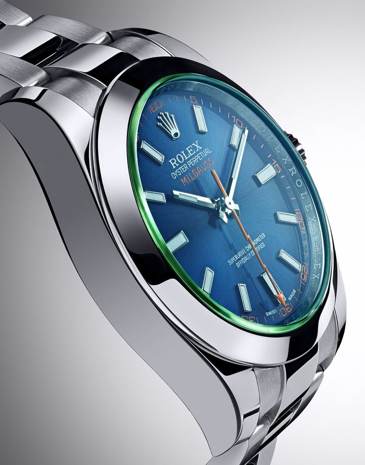 ♥ New Rolex Milgauss watch : Baselworld 2014. - nice blue and i want it. - bcoz it look like Potter's watch w/ that thunder clockwise, right. hahaa