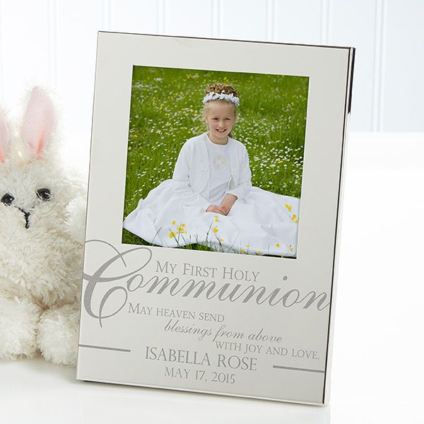 11620 - My First Holy Communion Personalized Silver Picture Frame