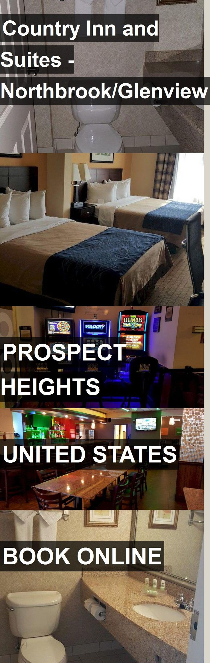 Hotel Country Inn and Suites - Northbrook/Glenview in Prospect Heights, United States. For more information, photos, reviews and best prices please follow the link. #UnitedStates #ProspectHeights #travel #vacation #hotel