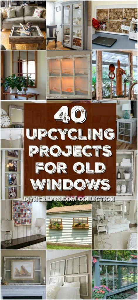 One of the first things that we did when we started remodeling our house was replace the windows. Now, the house has a lot of windows so there were several old windows that I needed to get rid of. I thought about just throwing them out or maybe selling them cheap in a yard sale but then I wondered..