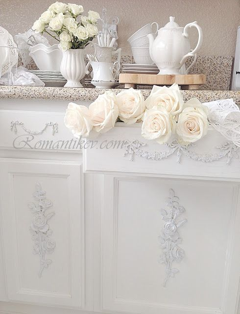 #Shabby #Chic make your house a home - beautiful shabby décor in white.... http://www.myshabbychicstore.com