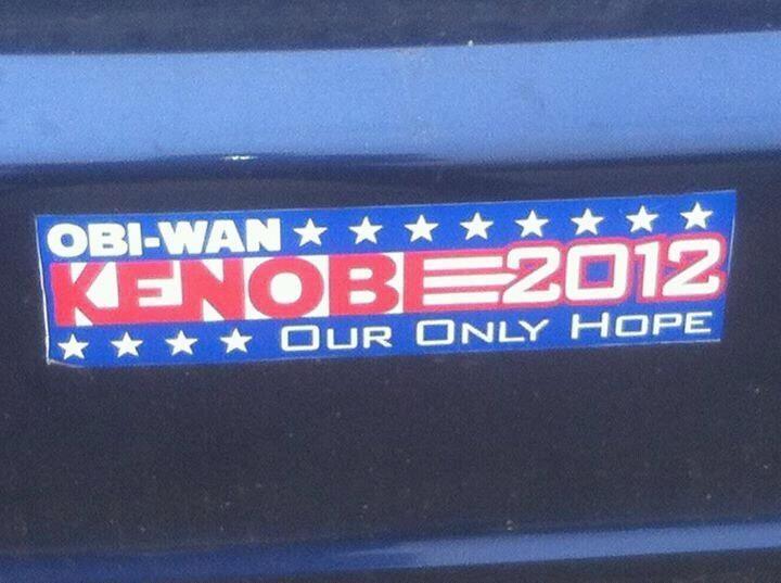 Our only hope.: Obi Wan, Obiwan, Star Wars, Funny Stuff, Hope, Starwars