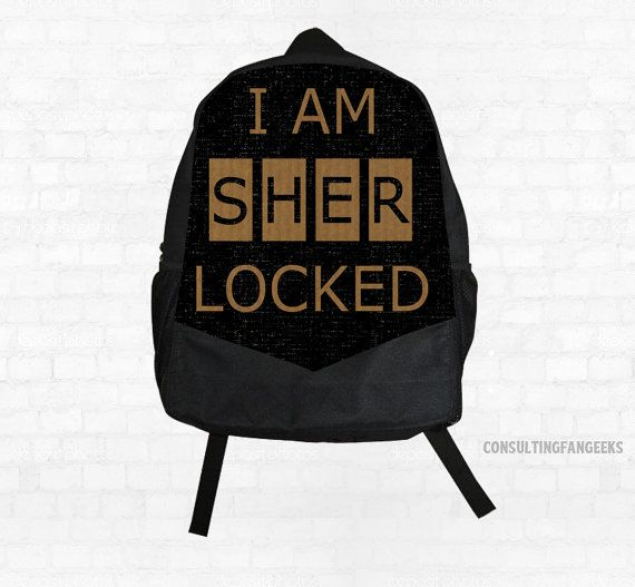 SHERLOCK  I Am SHERlocked Tweed Canvas by ConsultingFanGeeks, $44.90 NEED!!!!!!!!!!!!!!!!