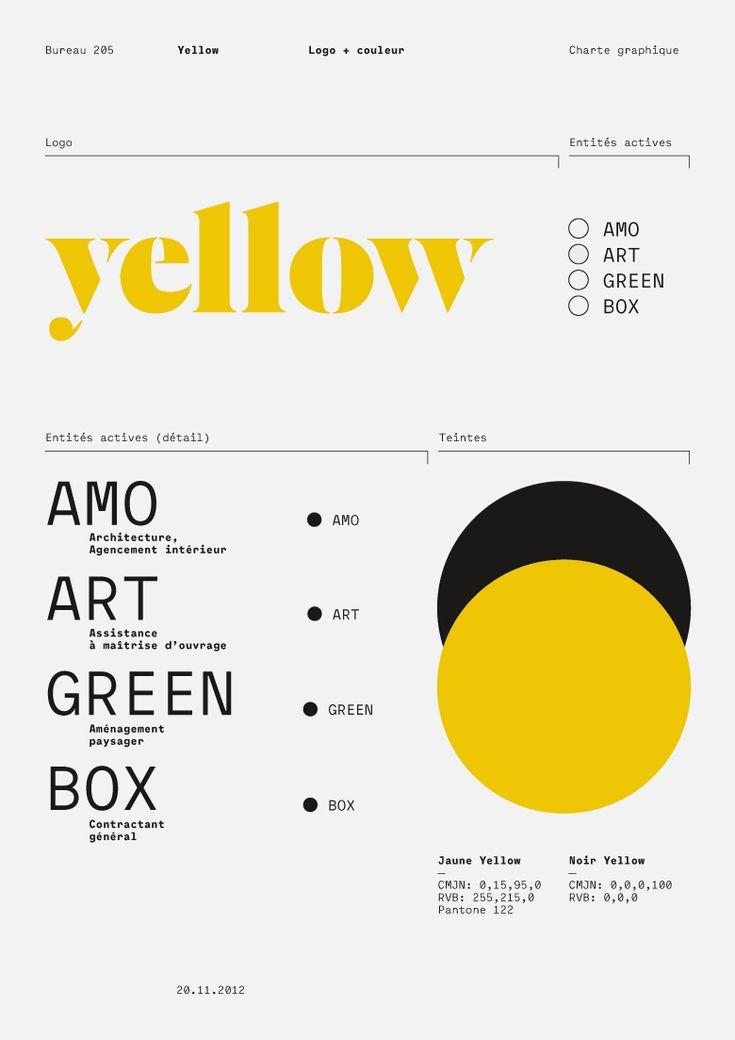 Yellow, logotype