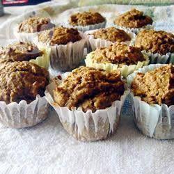 Muffins épicés à la courge butternut