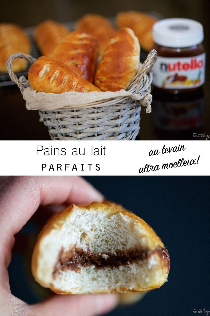 Pains au lait parfaits, au levain et ultra moelleux | Cuisine en Scène, le blog cuisine de Lucie Barthélémy - CotéMaison.fr
