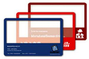 Full four colour prints can be applied to these clear transparent plastic cards just like the standard full colour business opaque cards. A clear PVC card allows your print to be applied to any part of the card and conversely any part of the card can be left transparent, the only limit here is the designers imagination.