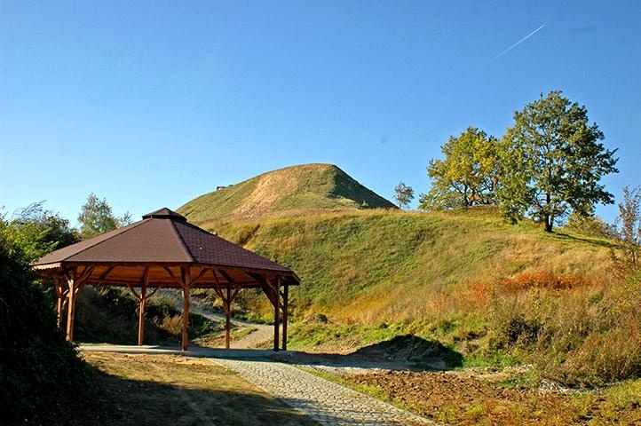 Przemyśl - Tatar mound (originally a place of cult of Slavic gods)