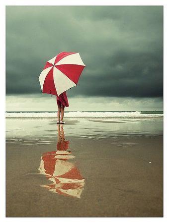 Sur la plage - Bretagne