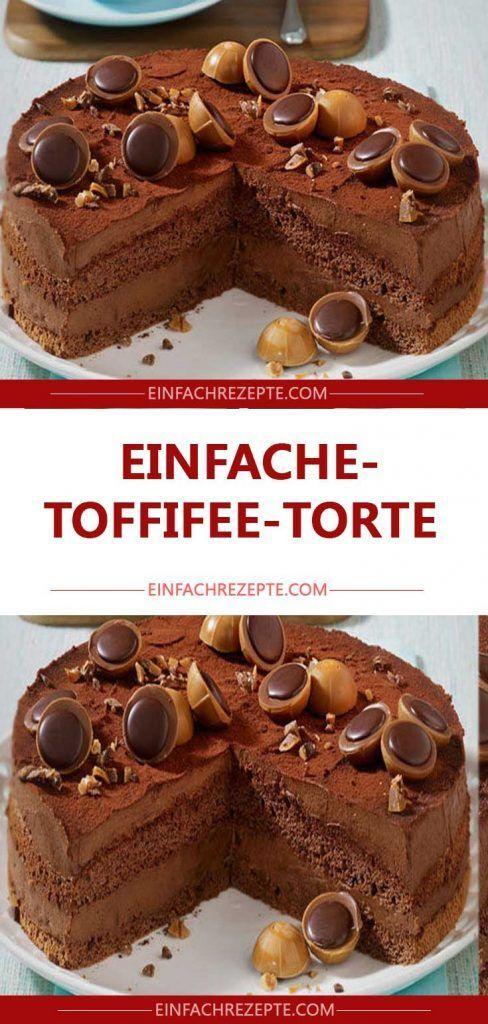 Einfache Toffifee-Torte