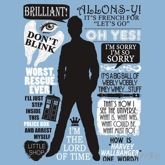 Doctor Who - 10th Doctor Quotes by Fantality