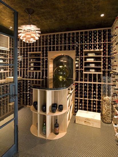 Nadia Designs, Contemporary Wine Cellar, Los Angeles