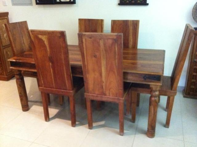 2600 AED Marina Dining Table And 6 Chairs