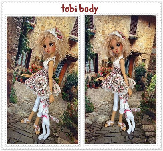 outft for doll to fit tobi boby kaye wiggs by JazzyRagsFran