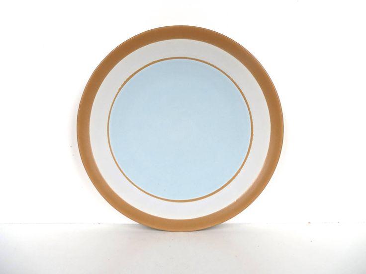 Set Of 4 Dansk Spa Swedish Blue Salad Plates, Vintage Modern Side Plates By Dansk by HerVintageCrush on Etsy