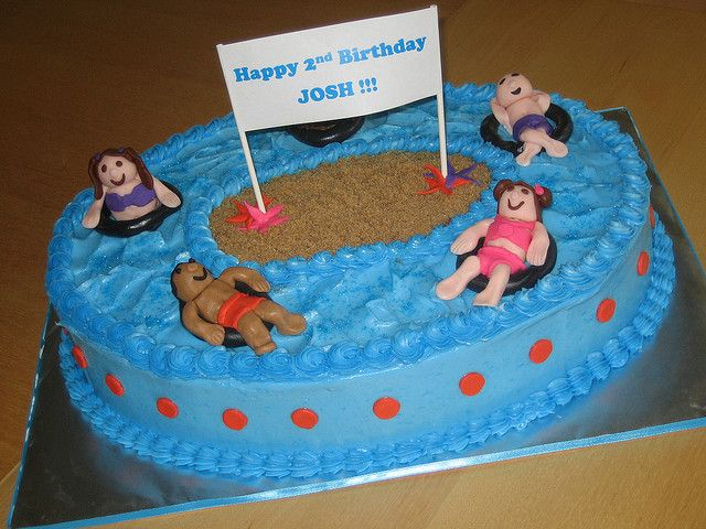 The 25+ Best Swimming Pool Cakes Ideas On Pinterest | Swimming