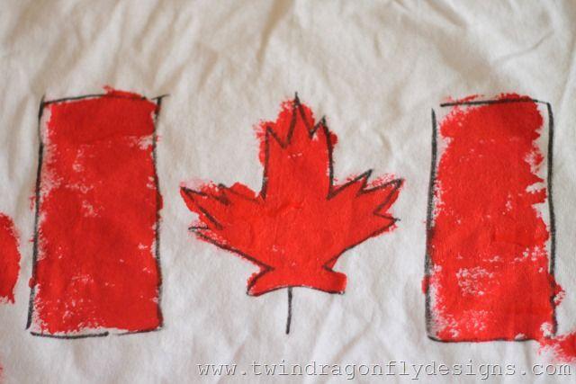 DIY Canada Day T-shirts (28)