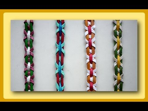 Плетение полосок из трубочек - Часть 2 / Weave the strips of paper tubes - Part 2 - YouTube
