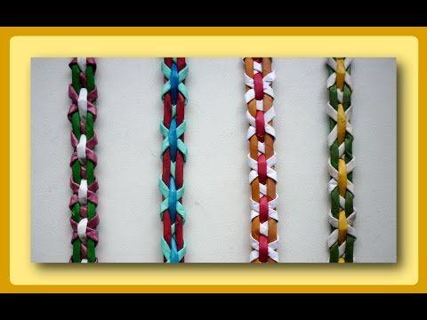 Плетение полосок из трубочек - Часть 2 / Weave the strips of paper tubes - Part 2 - YouTube
