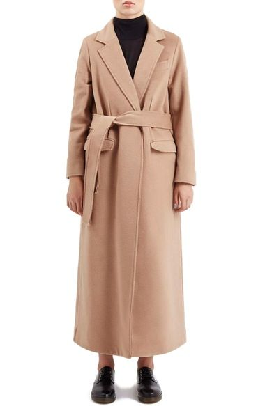 Topshop Boutique Wrap Coat available at #Nordstrom