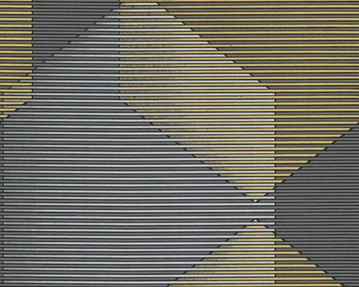 Tapety Reflection sú zaujímavé svojim prevedením. Vzory na tapetách sú vytvorené za pomoci bodiek s jemnými odleskami. Grafické vzory a metalický vzhľad sú správnou voľbou do každého moderného interiéru. Tapety srozmerom 0,53 m x 10,05 m.