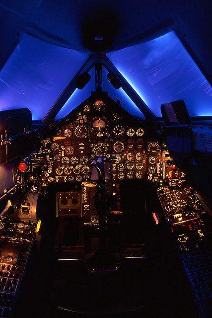 SR 71 Cockpit
