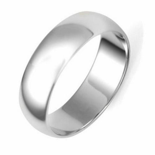 Style Sanctuary  - Stainless Steel Wide Band Wedding Ring, £4.99…