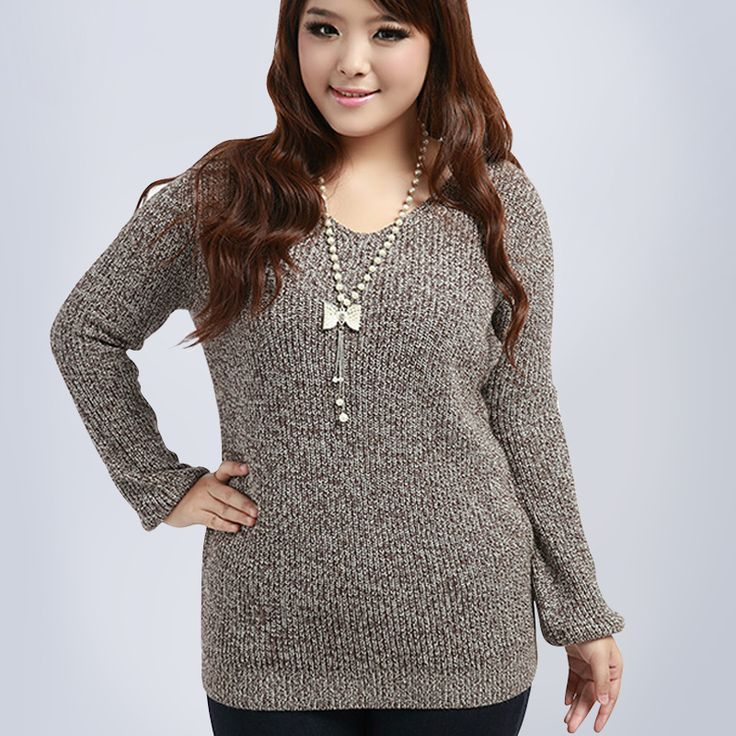 Find More Information about 2015 winter&autumn plus size clothing for women v neck medium long warm knitted sweater outerwear loose all match  pullovers ,High Quality clothing poncho,China size 14 flip flops Suppliers, Cheap size button from Kamy Larger-Size Home on Aliexpress.com
