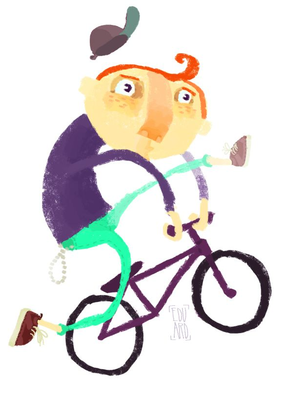 Bmx illustration