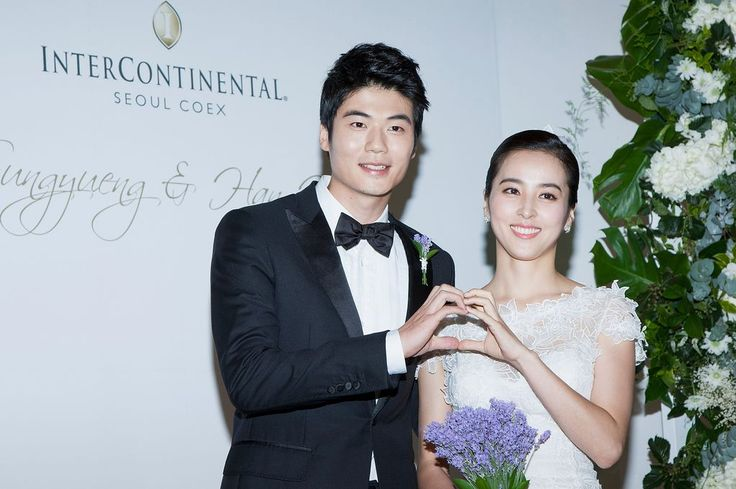 Swansea City star Ki Sung-Yueng ties the knot with glamorous Han Hye-jin - Wales Online