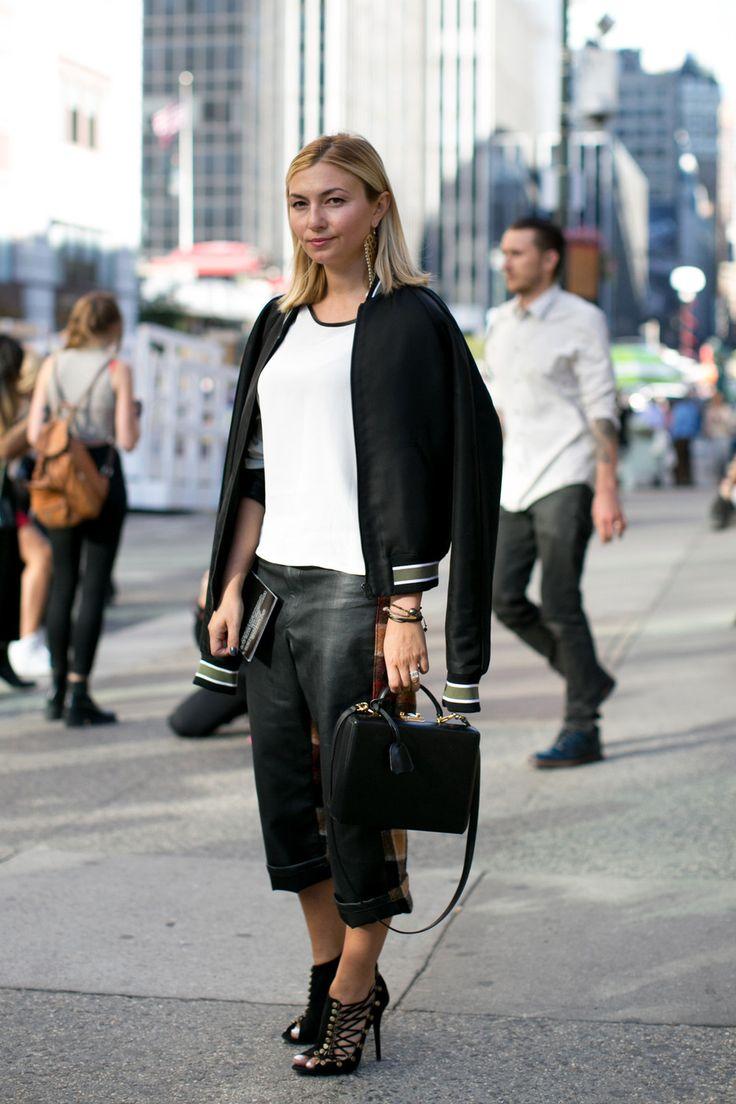 She's a Sport - Street Style Spotlight: Nasiba Adilova - StyleBistro