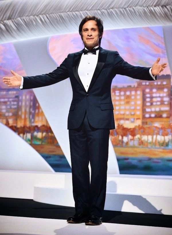Gael Garcia Bernal in Dior Homme http://www.whats-he-wearing.com/2014/05/gael-garcia-bernal-in-dior-homme-cannes-closing-ceremony-2014.html