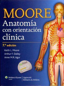 Anatomía con orientación clínica / Moore, K. L.  http://mezquita.uco.es/record=b1676476~S6*spi