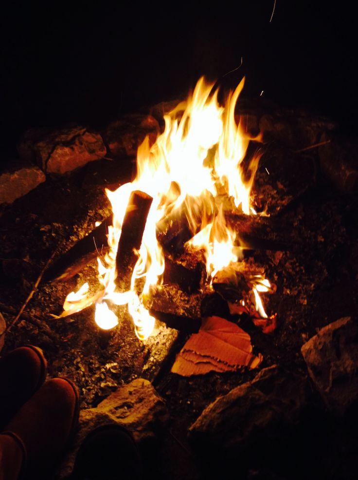 Camp fire campfire outdoor outdoor decor