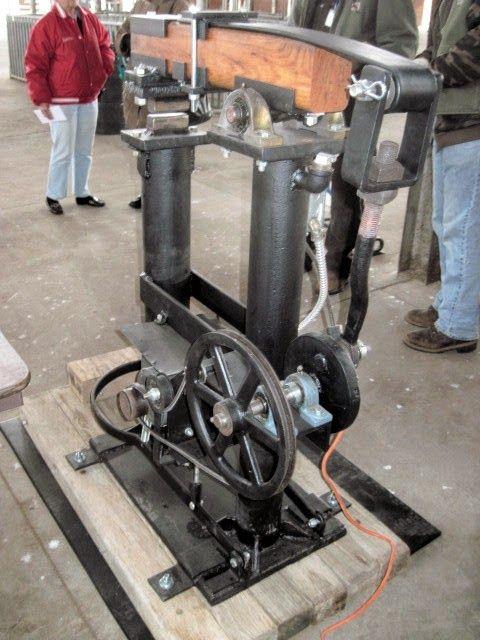 Persimmon Forge: Professional Blacksmithing: Bernie's Helve Hammer