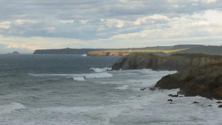 La costa asturiana desde Arnao (Castrillón , Asturias)
