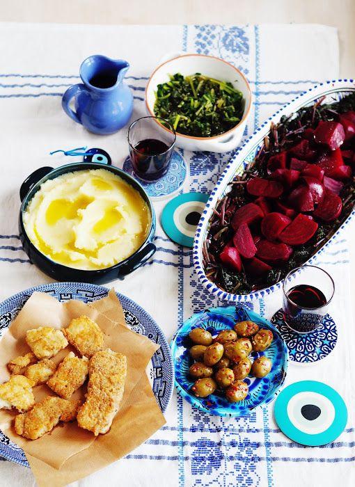 Greek Independence Day: Salt Cod and Skordalia (Μπακαλιαρος σκορδαλια)