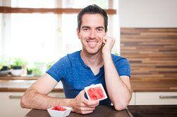 Blesková jahodová zmrzlina: Do minuty je na stole!