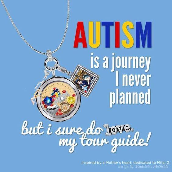 Origami Owl. Autism awareness. www.CharmingLocketsByAline.OrigamiOwl.com