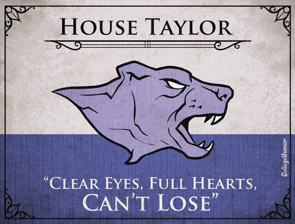 : Houses Sigil, Thrones Houses, Clear Eye, Games Of Thrones, Tv Families, Full Heart, Houses Taylors, Game Of Thrones, Coach Taylors