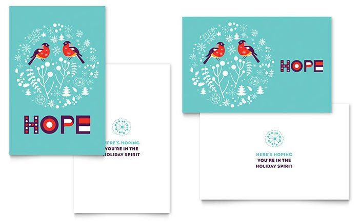 Word Greeting Card Template Hope Greeting Card Template Word Publisher Christmas Card Template Birthday Card Template Greeting Card Template