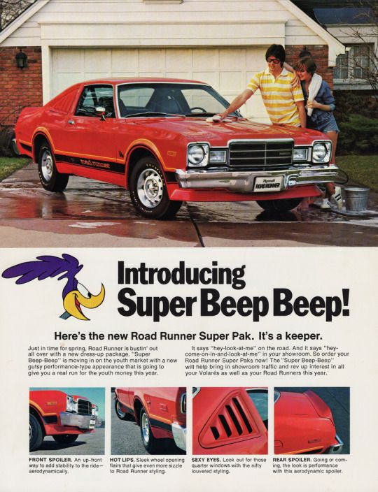 1976 Plymouth Volare' Road Runner Super Pak