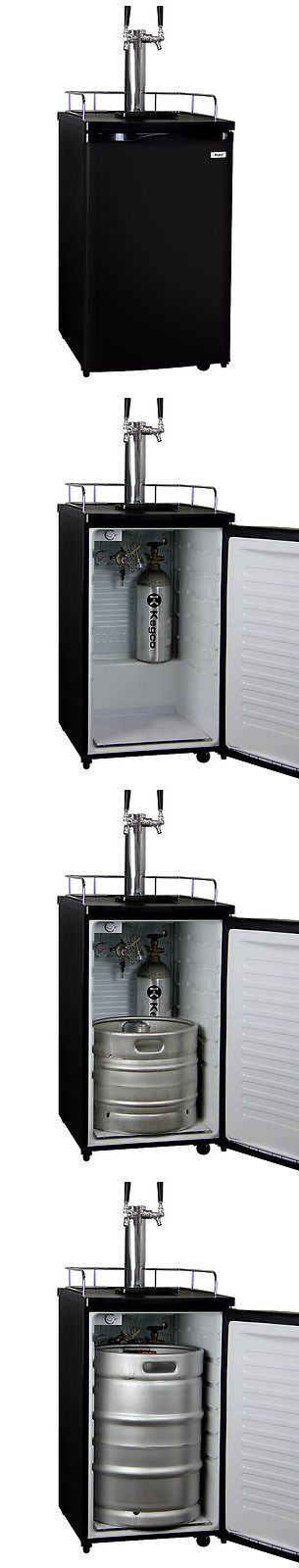 Liquor and Beer Dispensers 103429: Kegerator Beer Fridge Keg Tap Cooler - Double Faucet - D System -> BUY IT NOW ONLY: $610.31 on eBay!