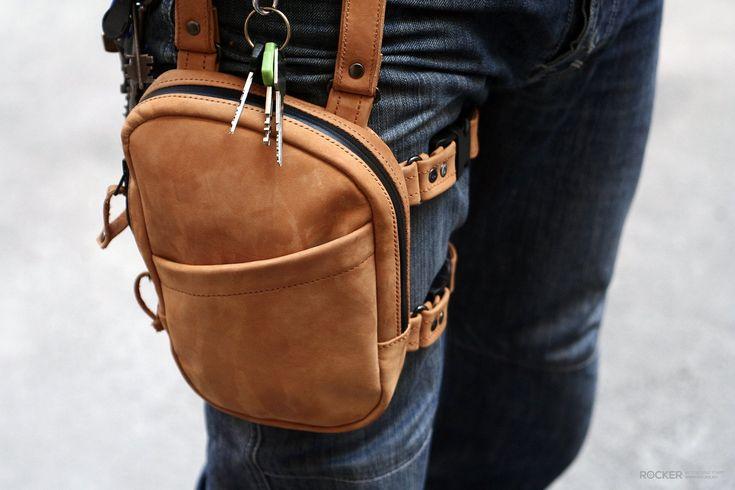 Набедренная сумка (на ногу) для мотоциклиста